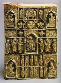 Gospel Cover with Evangelists in each corner. Late 15th century. Originally from the Nikolo-Pesnoshsky Monastery