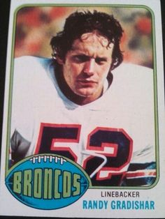 Randy Gradishar Rookie Card