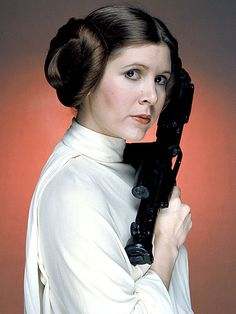 First Look: See Carrie Fisher's Daughter in Star Wars: The Force Awakens – with Princess Leia's Hairdo!| Star Wars: The Force Awakens, Star Wars, Movie News, Carrie Fisher
