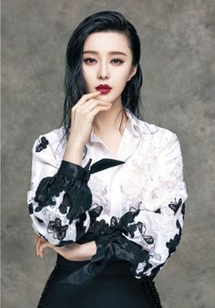 Fan Bingbing Takes On Luxe Style for Vogue Taiwan Cover Shoot