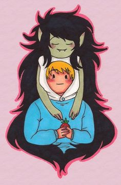 Adventure time Finn And Marceline, What Time Is, Everything Is Awesome, Adventure Time, Weird, Cartoons, Anime, Fictional Characters, Cartoon