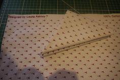 Vintage Laura Ashley Fabric £3.50