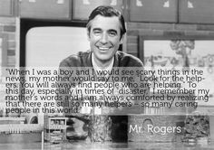 Thank you, Mr. Rogers ❤