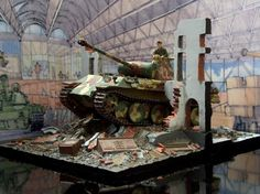 Panther Ausf.D 1/35 scale :The PLAZA Museum of Plastic Models  |  Dioramas | Panther Ausf.A