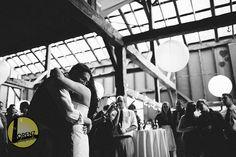 First dance in the #Barn #Rustic #BarnWedding