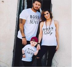 2017 Family matching clothes family Boss t shirt sets bear matching mother and daughter clothes dad son look family tshirts Mother Daughter Outfits, Mommy And Me Outfits, Kids Outfits, Mother Son Matching Outfits, Father Daughter Shirts, Dad And Son Shirts, Daddy Daughter, Couple Outfits, Matching Family T Shirts