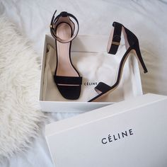 fashion, shoes, and celine image Heeled Boots, Shoe Boots, Shoes Sandals, Black Sandals, Celine, Pumps, Shoe Closet, Shoe Game, Your Shoes