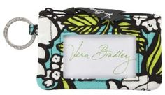 Necessity for keeping your campus ID cards all in one place!! Vera Bradley Island Blooms Zip ID Case (5x3)