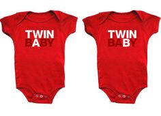 Hehe, needed these in the hospital. Callie was twin A, Carson twin B, and we had to tell the staff sooo many times which was which.