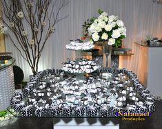 Solteiras Noivas Casadas: Decoração do Casamento: Preto e Branco