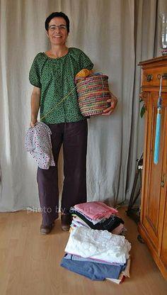 #MMMay14 ak-uts no.30 with a bit of fabrics and yarn