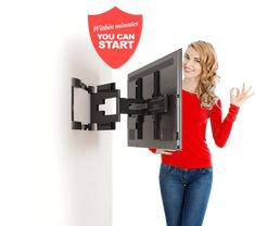 Looking for a reliable and professional TV wall mounting service in York? If so, you have come to the right place    http://promount-tv-brackets.co.uk/product/cantilever-swivel-tv-wall-bracket-for-23-42-tvs