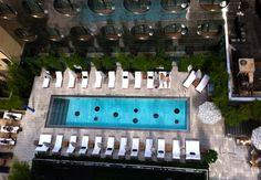 Dream Downtown Hotel Pool   New York!