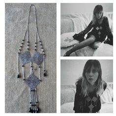 Sharon Tate inspired necklace. Etsy.com/shop/stevesascojewelry