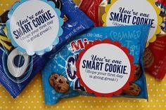 back to school printable - cookie tag