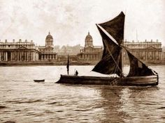 Thames Sailing Barge Greenwich late 1890's pic.twitter.com/HTLpGw6CO1