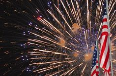 Addison Kaboom Town!, Addison, TX - A small-town fireworks display! Addison has only 15,000 residents but draws 500,000 people for an air show and fireworks display on July 3rd. Fireworks are visible from all over town, including many local restaurants.