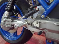 BSK SpeedWorks - BMW K Series Rearsets - Bespoke custom built motorcycles and performance parts. Bobber, K100 Bmw, Bmw Cafe Racer, Cafe Racers, Brick Projects, Custom Street Bikes, Performance Parts, Cool Toys, Cars And Motorcycles