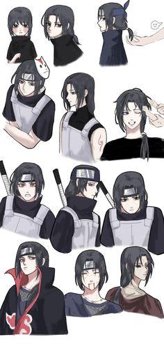 Itachi Uchiha, Naruto Shippuden Sasuke, Boruto, Otaku Anime, Anime Guys, Manga Anime, Naruto Shippuden Characters, Naruto Fan Art, Naruto Cute
