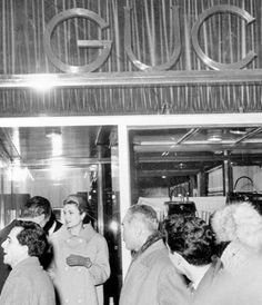 The first Gucci store In Milan opened in 1951