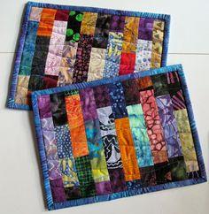 Exuberant Color: More mug rugs.........