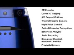 The Knightscope K5 - Autonomous crime buster!!!  To predict & prevent suspicious acts. Great execution project...