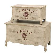 Paris Trunk Set