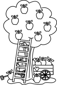 Johnny Appleseed Coloring Pages Best Coloring Pages For Kids Apple Coloring Pages Tree Coloring Page Fruit Coloring Pages