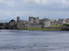 St John's Castle from Henry Street by Barry Wood - near to Limerick, Ardnacrusha and  Athlunkard Bridge, Limerick, Ireland