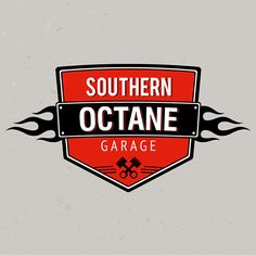 Southern Octane Garage - A Suwanee, GA based hot rod, custom car, and metal fabrication shop that builds badass rides of all years. I worked closely with shop owner and hot rod builder Jeremy Smith to develop a brand identity that captures the classic loo…