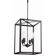 Square Caged Pendant - Loot Design House & Mercantile $1010