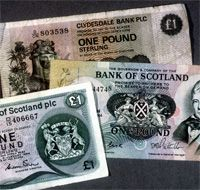 Money is confusing in Scotland. You have the Bank of Scotland currency. UK currency. Paper and coins. I was more adapt by the end of my 2 week tour.