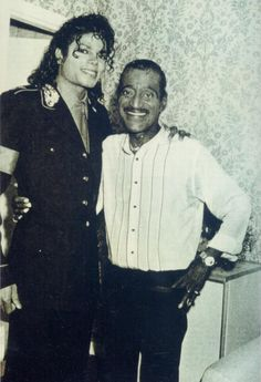 Sammy Davis Jr. : 'Everything Michael Jackson does on stage is exactly right.'