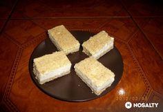 Angol szelet - tejfölös sütemény