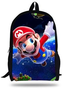 Wholesale Super Mario Mix Cartoon Boy/'s Drawstring Backpack School Backpacks