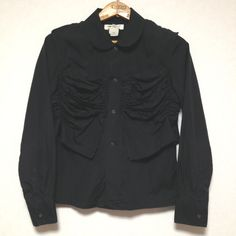 COMME des GARÇONS SHIRT TYPED JACKET Size: S Made in FRANCE