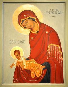 Orthodox Christianity, Orthodox Icons, Mother And Child, Our Lady, Christian Faith, Santa Maria, Madonna, Catholic, Icon Book