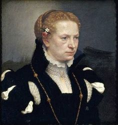 Giovanni Battista Moroni (Late Italian Renaissance painter, c 1520–1578) Portrait of a Woman