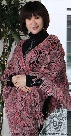 Crochet: Shawls and scarfs