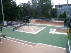 Rampage Skatepark Equipment: Skatepark Gallery