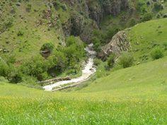 Beautiful Hewraman, Kirmaşan Province, Iran.