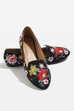 SAFFRON Emroidered Slippers