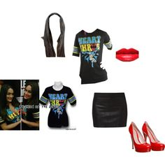 """""""Bella twins inspired"""" by ittybittykittyy on Polyvore"""