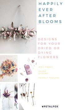 12 Must-Try Trends for Dried Flowers — Petalfox Pressed Roses, Pressed Flowers Frame, Dried And Pressed Flowers, Dried Rose Petals, Dry Flowers, Paper Flowers, Flower Crafts, Flower Art, Art Floral