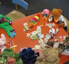 Harrison Public Library - Stuffed Animal Sleepover