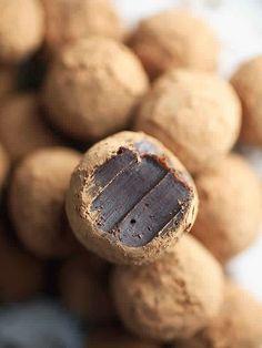 Amazing Chocolate Coffee Truffles