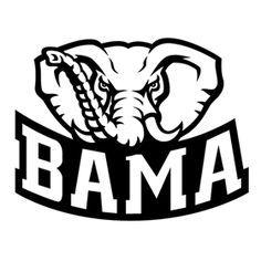 Crafting with Meek Alabama Logo SVG SVGs Pinterest Alabama