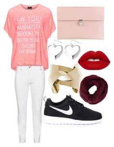 ... by elodie-vallet on Polyvore featuring polyvore beauty Lime Crime BCBGMAXAZRIA Avenue Alexander McQueen Replace Steilmann NIKE