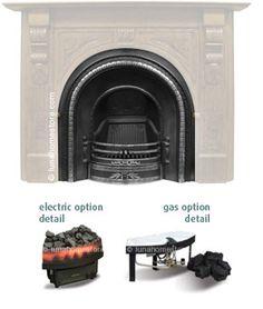 Falkirk Cast Iron Fireplace Insert (Highlight) Online Sale Price: £325.00 Cast Iron Fireplace Insert, Fireplace Inserts, Highlight, Home Appliances, Interiors, Bedroom, Wood, Home Decor, Lights