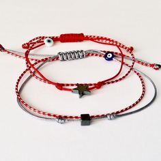 Set for him & her Macrame Bracelets, Handmade Bracelets, Hippy, Baba Marta, Jewerly, Paracord, Crafts, Beautiful, Diy Kid Jewelry